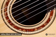 2011 Jeffrey Elliott SP/CSAR... like the burl inlay and chip carved rosette