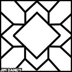 Pattern for Canvas Floor Cloth