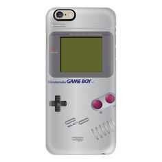 iPhone 6 Plus/6/5/5s/5c Case - Retro gameboy ($40) ❤ liked on Polyvore featuring accessories, tech accessories, iphone case, retro iphone case, slim iphone case, iphone cover case and apple iphone cases