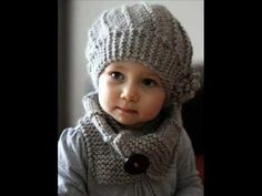 Cool Wool Hat and Cowl Set - Knit Pattern