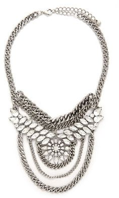 """""""FOREVER 21 Rhinestone Statement Necklace """" https://www.shopstylecollective.com/search?cat=jewelry&fl=r36"""