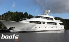 The 130' Westport Tri Deck is ready to travel anywhere.