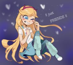 """just friends, but...being""""just friends """"with someone who you have a crush with........ it HURTS you know?in the FEELS!!"""