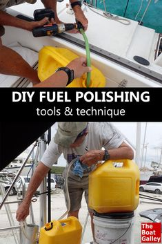 How to do your own fuel polishing -- the tools you need and a step-by-step how-to. via @TheBoatGalley