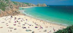 A beach in Cornwall.