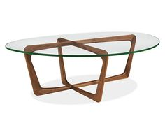 Dunn Cocktail Table with Glass Top - Modern Cocktail & Coffee Tables - Modern Living Room Furniture - Room & Board Coffee Table Furniture, Living Room Furniture, Home Furniture, Furniture Ideas, Pallet Furniture, Lewis Furniture, Living Rooms, Coffe Table, Furniture Shopping