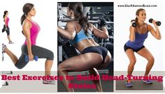 Want to build a perfect butt and tone your legs? Looking for the best glute exercises to give your rear a lift? If so, focus on compound moves..