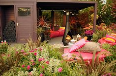 A delightful and colourful exhibit from Hilliers wins another gold medal at the 2013 RHS Chelsea Flower Show.