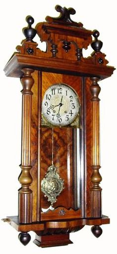 Image detail for Vienna regulator antique wall clock TIME