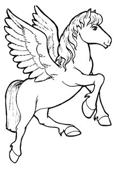 printable animals unicorn coloring pages for girls for holly