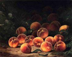 Bounty of Peaches, William Mason Brown