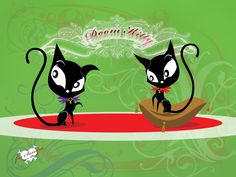 Doom Kitty - Ruby Gloom by ~hela66 on deviantART // I want a Halloween tattoo that includes a black cat-might as well make it Doom Kitty