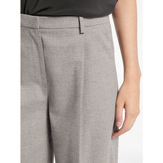 Buy Grey Modern Rarity Flannel Wide Leg Trousers from our Women's Trousers & Leggings range at John Lewis & Partners. Wide Leg Trousers, Trousers Women, Rarity, Wool Blend, Flannel, Feminine, Grey, Modern, Skirts