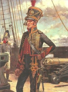 Now, THAT's a full-dress uniform.  Mind, the Marins of the Garde Impériale were men of special qualities and could back up the bling with some hard fighting.