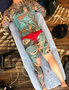 Victoria blaze татуировка