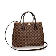 Kensington +Damier Ebene Canvas - Handbags   LOUIS VUITTON