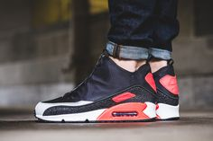 Nike Debuts the Air Max 90 Utility with Infrared Accents