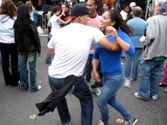 "Street Style Salsa at the San Fran Carnival 2009. ""Baila que baila"" by Avance... I love Salsa dancing the best  music and dance style EVER. this band playing is my daughters friends Dads band. They are amazing!!!! go Avance"