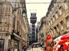 LISBOA, PORTUGAL. Elevador de Santa Justa. Foto por Armando Silva (no Google+)