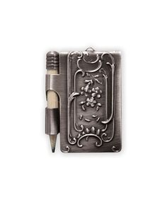 Look at this #zulilyfind! Dance Card Pendant Silver Pendants #zulilyfinds