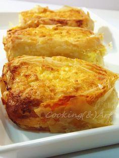 Ρολό τυρόπιτας / Cheese pie roll - Cooking & Art by Marion Greek Cheese Pie, Cheese Pies, Cheese Recipes, Cooking Recipes, Cookie Dough Pie, Pizza Tarts, Savory Muffins, Greek Cooking, Recipe Boards