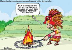 cool Maias começam contagem regressiva para o Fim do Mundo