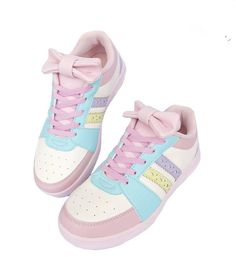Free Ship Japanese Magazine Bow Candy Sports Shoes  Material: PU  Size 35 36 37 38 39 Himi store