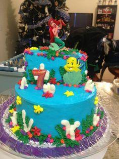 ariel cake   Little Mermaid Cake   Cake stuff