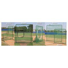 Varsity Protective L Shaped Pitchers Net