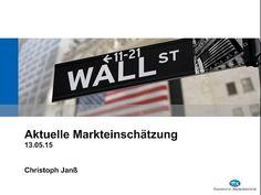 Aufzeichnung der live Marktbesprechung vom Mittwoch den 13.5.15, 18 Uhr mit Christoph Janß
