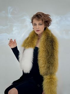 photography PEPPE TORTORA realization VALENTINA ILARDI MARTIN ISSUE IX featuring actress CHARLOTTE RAMPLING