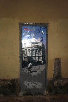 Street art in Florence #Streetart #Florence #Firenze #MadeofTuscany www.madeoftuscany.it