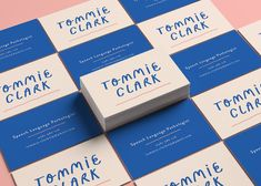 Tommie Clark - Imogen Grist Portfolio - The Loop Brand Identity Design, Corporate Design, Graphic Design Typography, Branding Design, Branding Ideas, Logo Design, Self Branding, Business Branding, Personal Branding