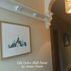 Have you tried Annie Sloan's Wall Paint yet? Here's a peek inside our own home! #anniesloanstockistwales #anniesloan