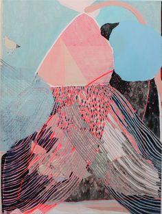 Painting by Misato Suzuki