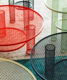 Net table by #moroso http://www.malfattistore.it/?product=net #outdoor #design