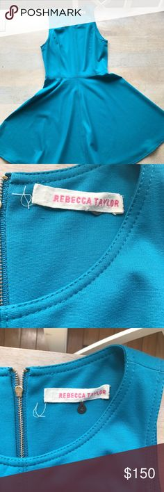 Rebecca Taylor Dress Previously worn sundress in a great deal color! Zipperbqck closure and great for work, brunch, or a wedding! No stains or rips! Great basic for anyone's closet. Open to reasonable offers through feature! Rebecca Taylor Dresses