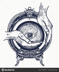 Resultado de imagen de bolas de cristal tattoo