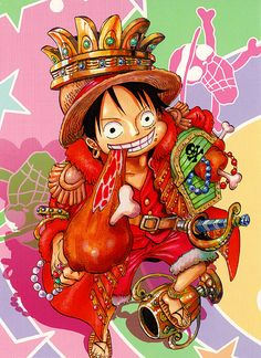 Pirate King Luffy~ My Niku! and Treasure