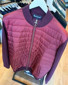 Back in stock Barbour Carn Baffle Zip Up in merlot . . . #fashion #mensfashion #fashionblogger #mensstyle #cardiff #7clothing #menswear #ootd #cardiffblogger Cardiff, Barbour, Zip Ups, Menswear, Ootd, Mens Fashion, Clothes, Instagram, Moda Masculina
