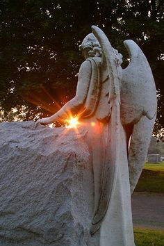 "Angel~""I am the Angel of the Sun Whose flaming wheels began to run When God 's almighty breath Said to the darkness and the Night, Let there be light! and there was light."" ~ Henry Wadsworth Longfellow -"