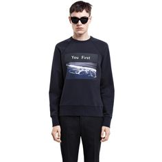 Acne Studios - College Photo Navy