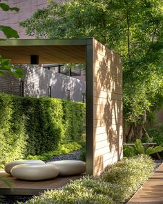 Landscaping With Rocks - How You Can Use Rocks Thoroughly Within Your Landscape Style M Jatujak Landscape Sanitas Studio On Behance Courtyard Landscaping, Courtyard Design, Facade Design, Garden Design, Landscape Architecture, Landscape Design, Outdoor Rooms, Outdoor Decor, Outdoor Wicker Furniture