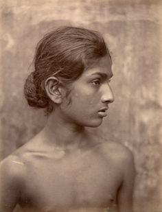 Old Sri Lanka people Sinhala boy