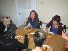 Rock Trust Young people cooking & enjoying a shared meal with support workers - toad in the hole! Toad In The Hole, People Change, Group Activities, Young People, Compass, Trust, Youth, Meal, Rock