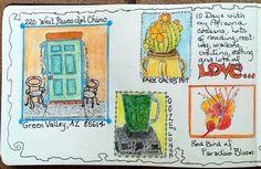 Artist Elizabeth Merriman - Sketchbook Skool