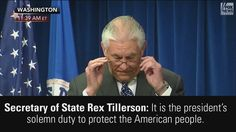 WATCH highlights from Secretary of State Rex Tillerson, Attorney General Jeff Sessions, and Secretary of Homeland Security John Kelly's announcement of President Donald J. Trump's revised travel ban. http://fxn.ws/2mbJY6W