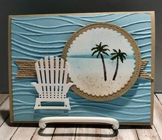 Waterfront by Stampin Up