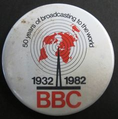 """50 years of broadcasting to the world. 1932 · 1982. BBC"". British Broadcasting Corporation"