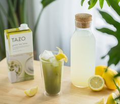 Sweeten up your green tea latte with this refreshing twist! Grab our NEW concentrate and mix with equal parts of lemonade instead of milk. Are you bold enough to try it?